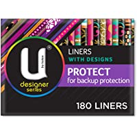 U By Kotex Designer Protect Liners (Pack of 180)