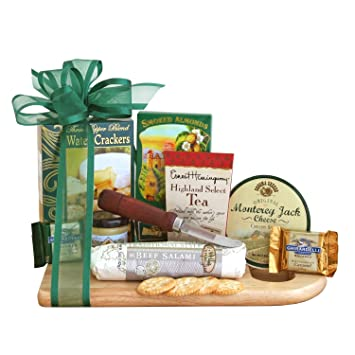 Amazon sausage cheese and crackers deluxe gift assortment sausage cheese and crackers deluxe gift assortment easter gift idea negle Images