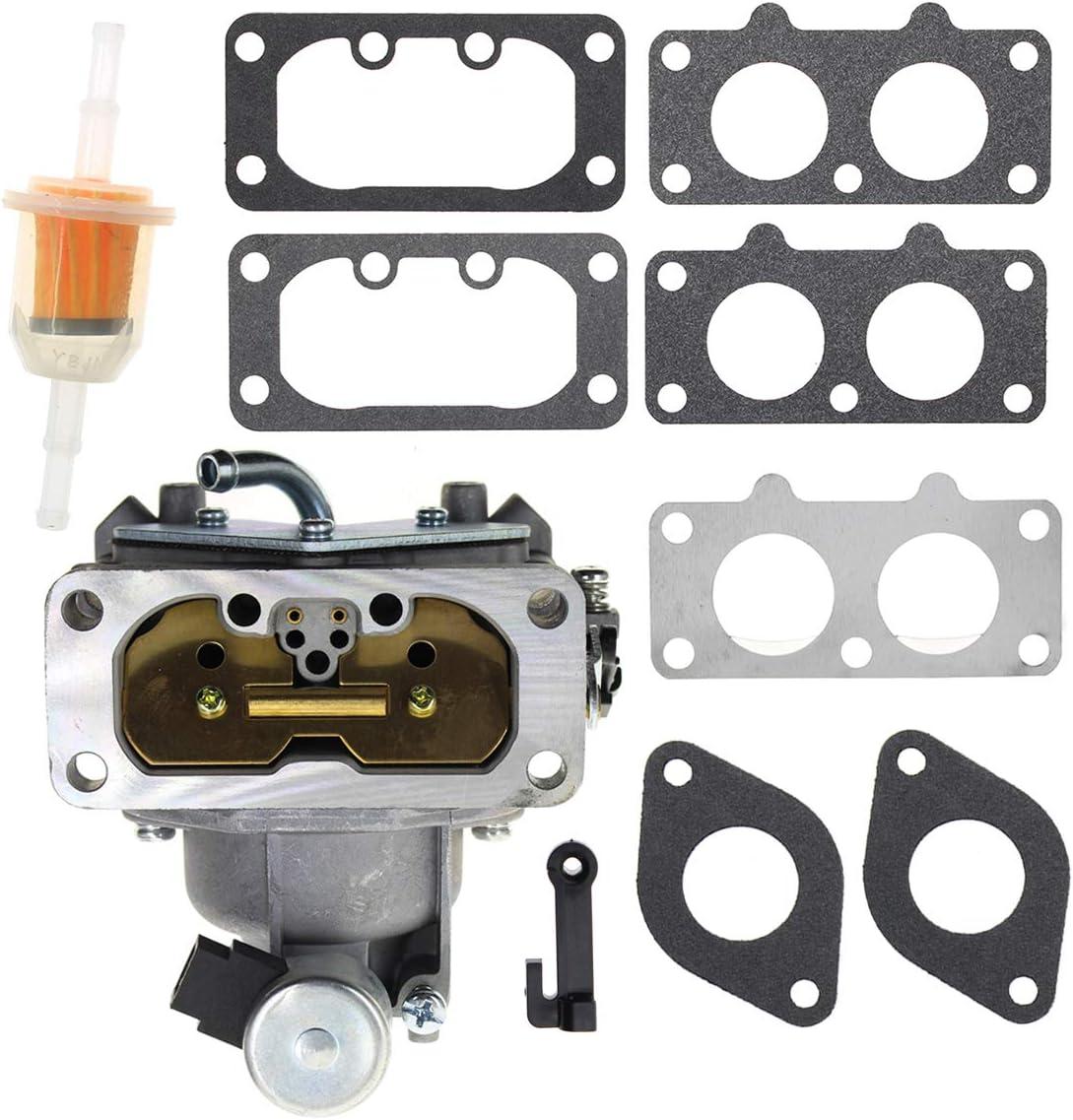Carbhub Carburetor for Kawasaki some FH641V, FH661V Replaces 15004-0763, 15004-7024, 15004-1010