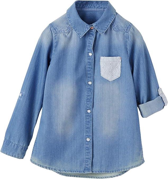 VERTBAUDET Camisa Vaquera niña: Amazon.es: Ropa y accesorios