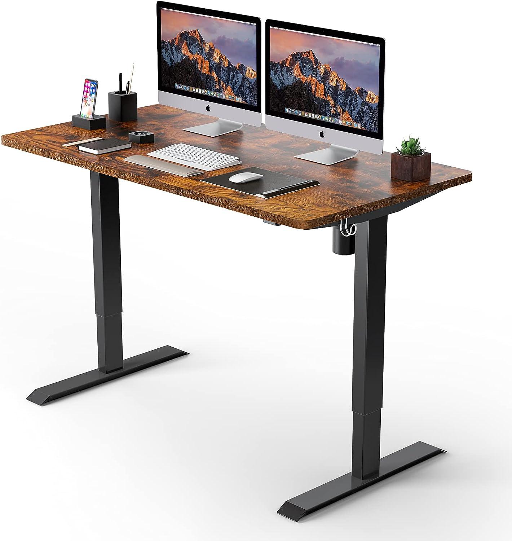 "TTKK 48"" x 24"" Electric Standing Desk  $109.99 Coupon"