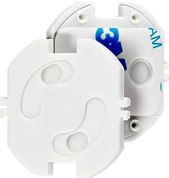 40329c7f99 Magic Mama Steckdosensicherung zum Klemmen und Kleben - Steckdosenschutz  für Baby und Kinder (10 Stück