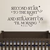 Ditooms Neverland Wall Decal Second Star To The
