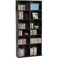Ordinaire Atlantic 38435719 Oskar Media Cabinet For 464 CD Or 228 DVD, Espresso