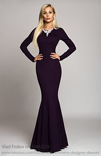 8524415490d Amazon.com  Long dress in mermaid style