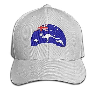 Osmykqe Loving Kangaroo Australian Flag Ligero, Transpirable, al ...