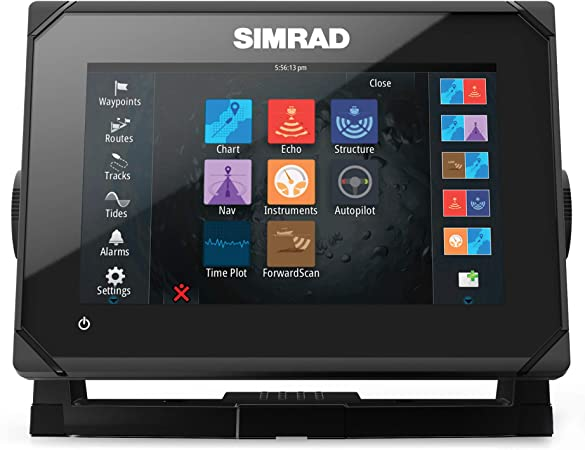 Simrad GO7 XSE Chartplotter/Fishfinder w/TotalScan Transom Mount Transducer by Simrad: Amazon.es: Deportes y aire libre