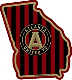 "MLS Atlanta United FC Sticker in Georgia - All Weather Vinyl Sticker - With Sticky Back - - Used on all flat hard smooth clean surfaces - For Outdoor & Indoor Use - Available in Size - 3""x 4"""