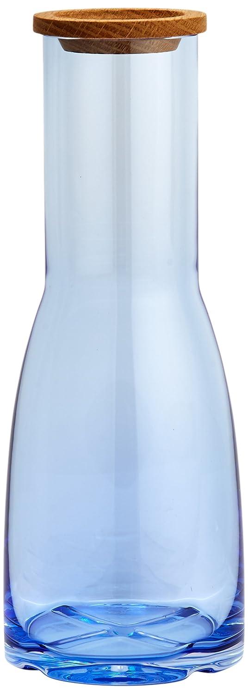 Kosta Boda Bruk 44.56 Ounce Carafe, Water Blue 7081602