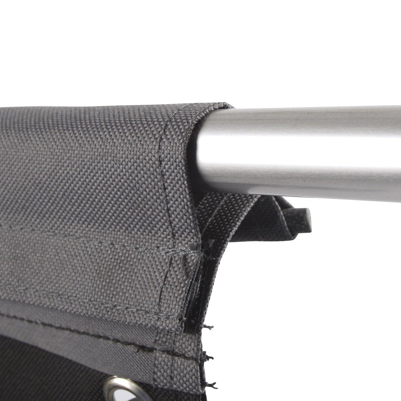 Pat/ère Velcro Camping avec 8/crochets de fixation keder 7,5/mm Longueur 74/cm