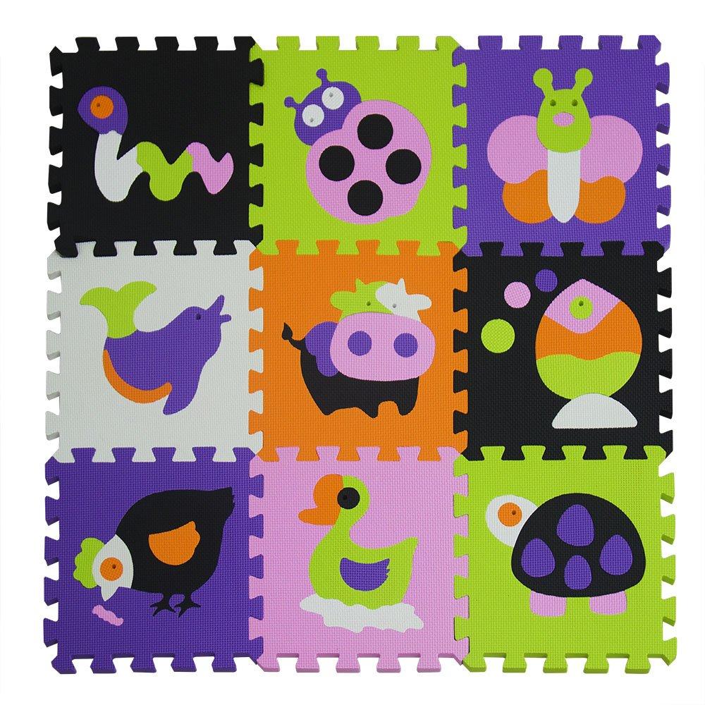 XMTMMD Enfants Puzzle Jeu Mat Color/é Doux Non Toxique Jigsaw Foam Carrelage et Jouets Instrument de musique AMP009B3010