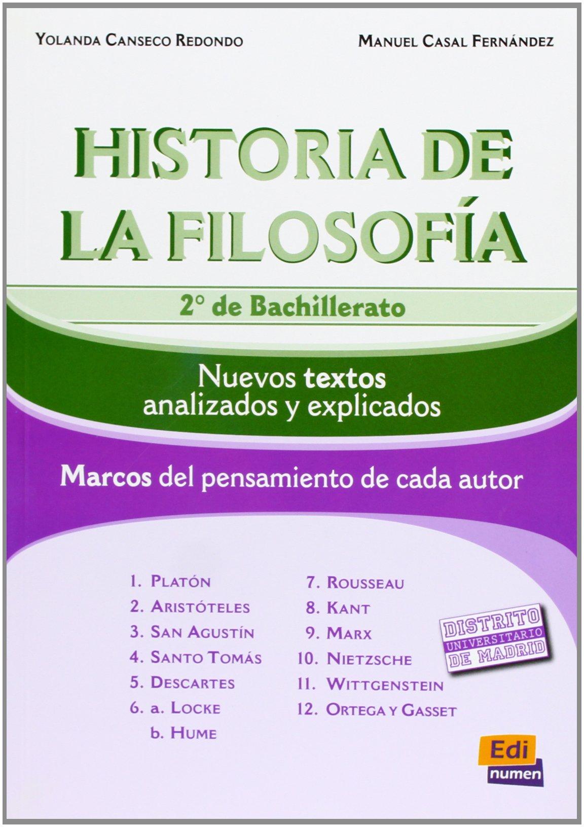 Historia De La Filosofía. Bachillerato 2 - Edición 2012 ...