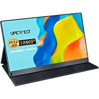 UPERFECT Portable Monitor 15.6'' Computer Display [100% sRGB High Color Gamut] 1920×1080 USB C Monitor FHD Eye Care…
