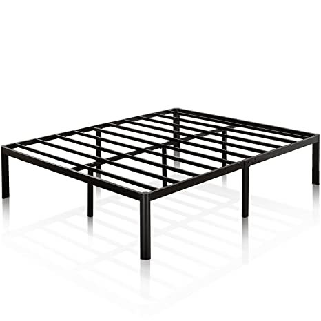 Amazon Com Zinus Van 16 Inch Metal Platform Bed Frame With Steel