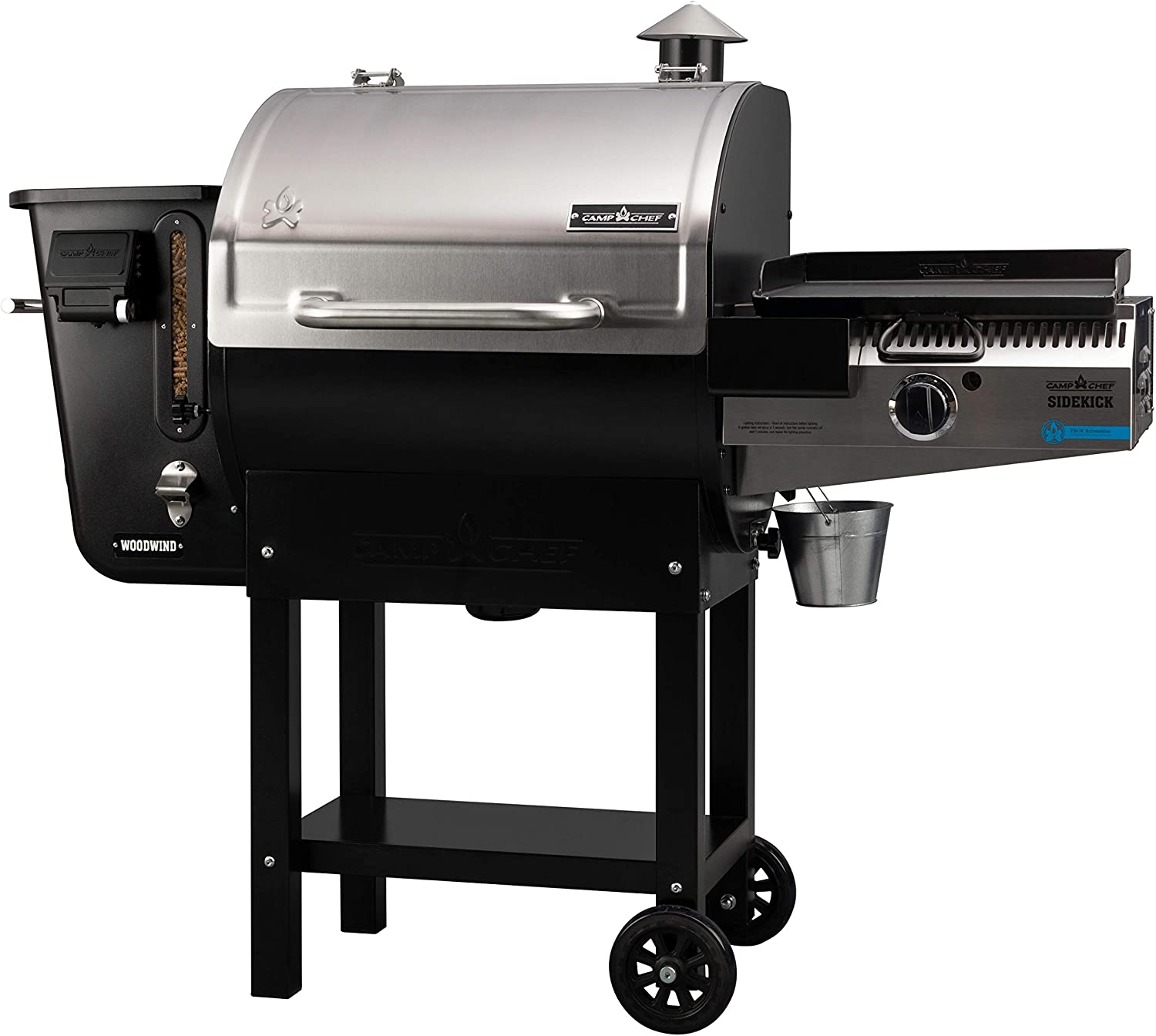 Camp-Chef's-Woodwind-24-PG14-Pellet-Grill-Smoker-with-Sidekick