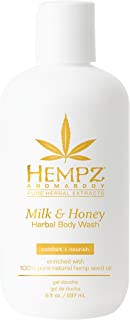 product image for Hempz Milk and Honey Herbal Body Wash, 8 Ounce