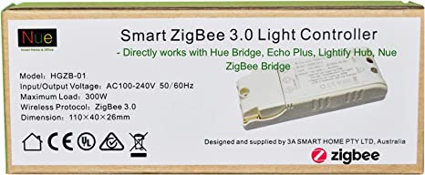 110 240v Smart Zigbee 3 0 Light Switch Controller Compatible With Echo Plus And Common Zigbee Bridge Hub To Control Normal Lights Home Automation And Voice Control Amazon Com