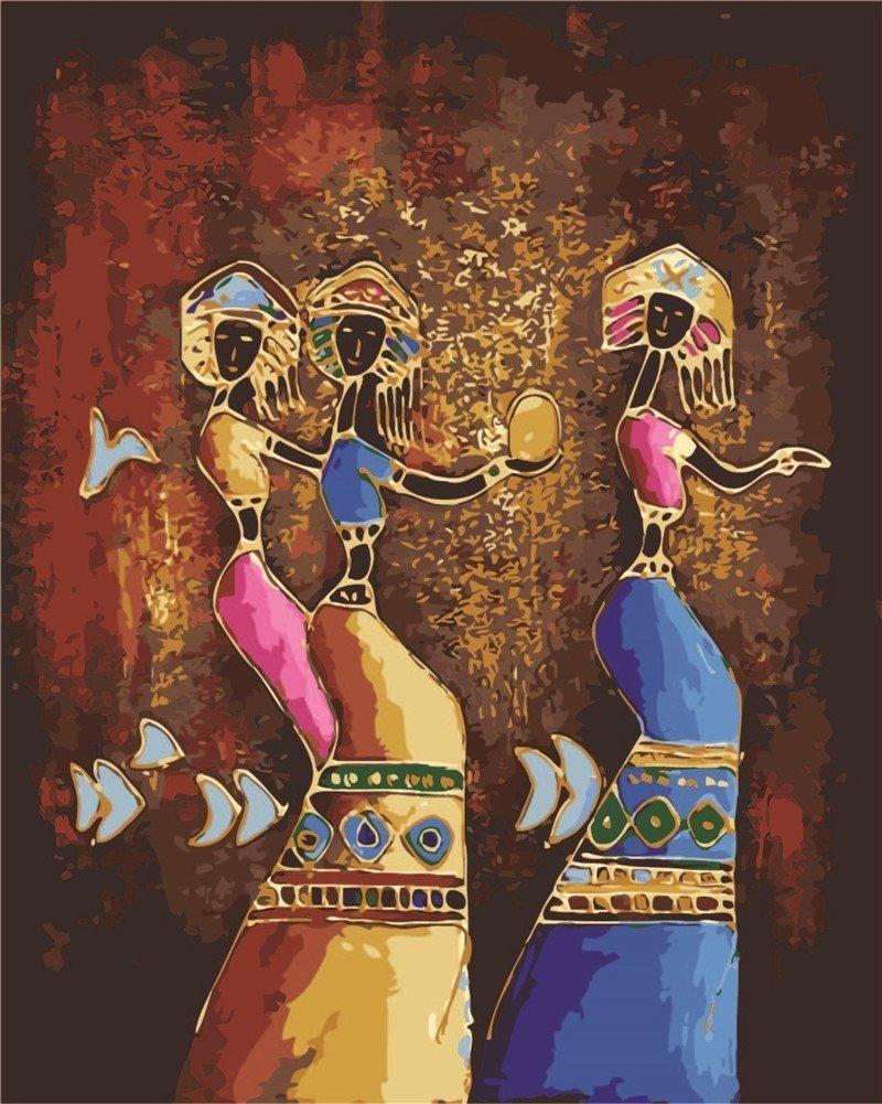 Pintura Por Numeros (itm-7206) Mujeres