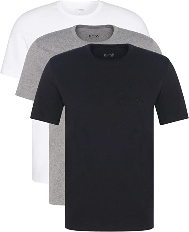 Hugo Boss T- Shirt Col Rond Maglietta Uomo
