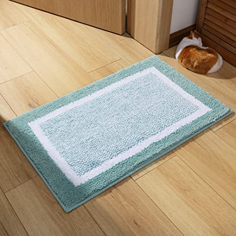 Kitchen Rugs,Ou0027Family Non Slip Microfiber Bath Rugs With Rubber Backing  Area Doormat