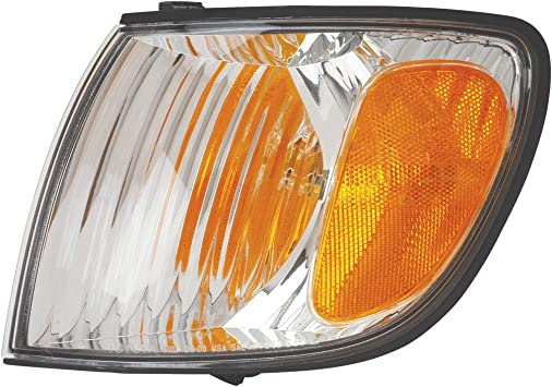 HEADLIGHTSDEPOT Signal Light Compatible With Toyota Sienna 2001-2003 Includes Right Passenger Side Signal Light