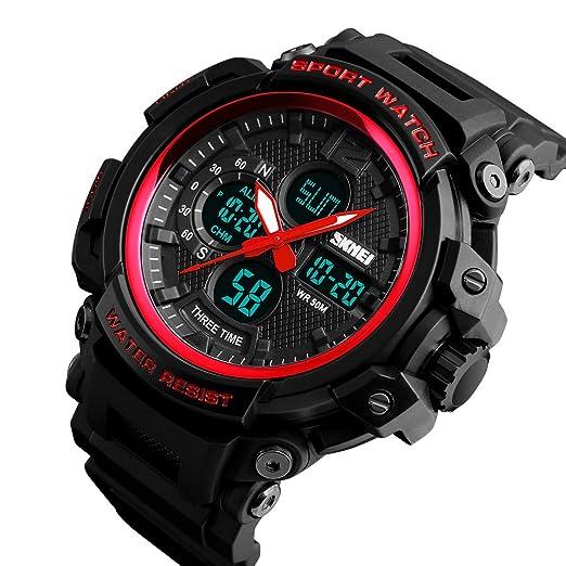 Men's Watches Skmei Outdoor 50m Waterproof Countdown Compass Chronograph Sport Watch Man Watch Mens Digital Clock Relogio Masculino 100% Original