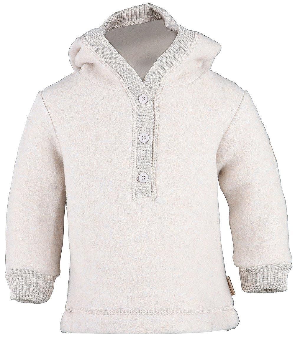 mikk-line Woll-Kapuzenshirt, Felpa Unisex-Bimbi 50006