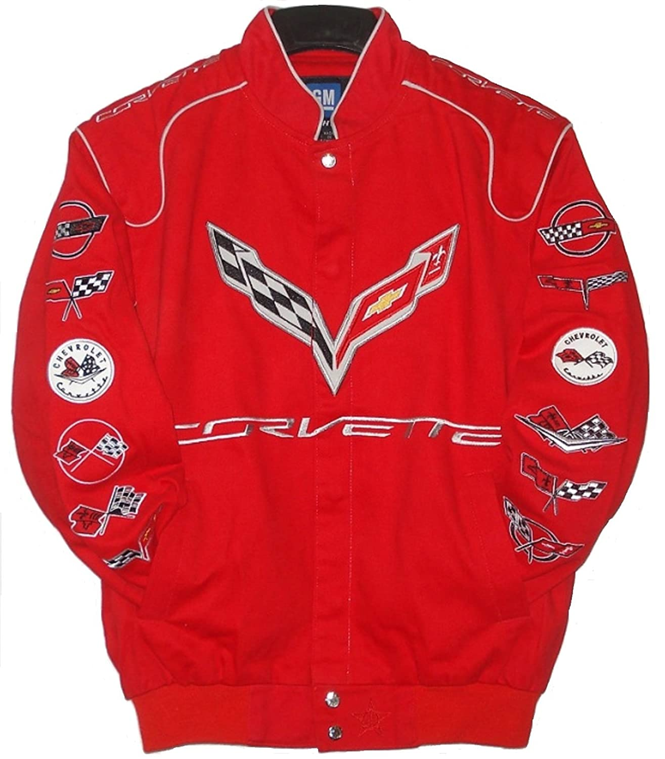 Chevy Racing Cotton Jacket Jh Design Size XLarge