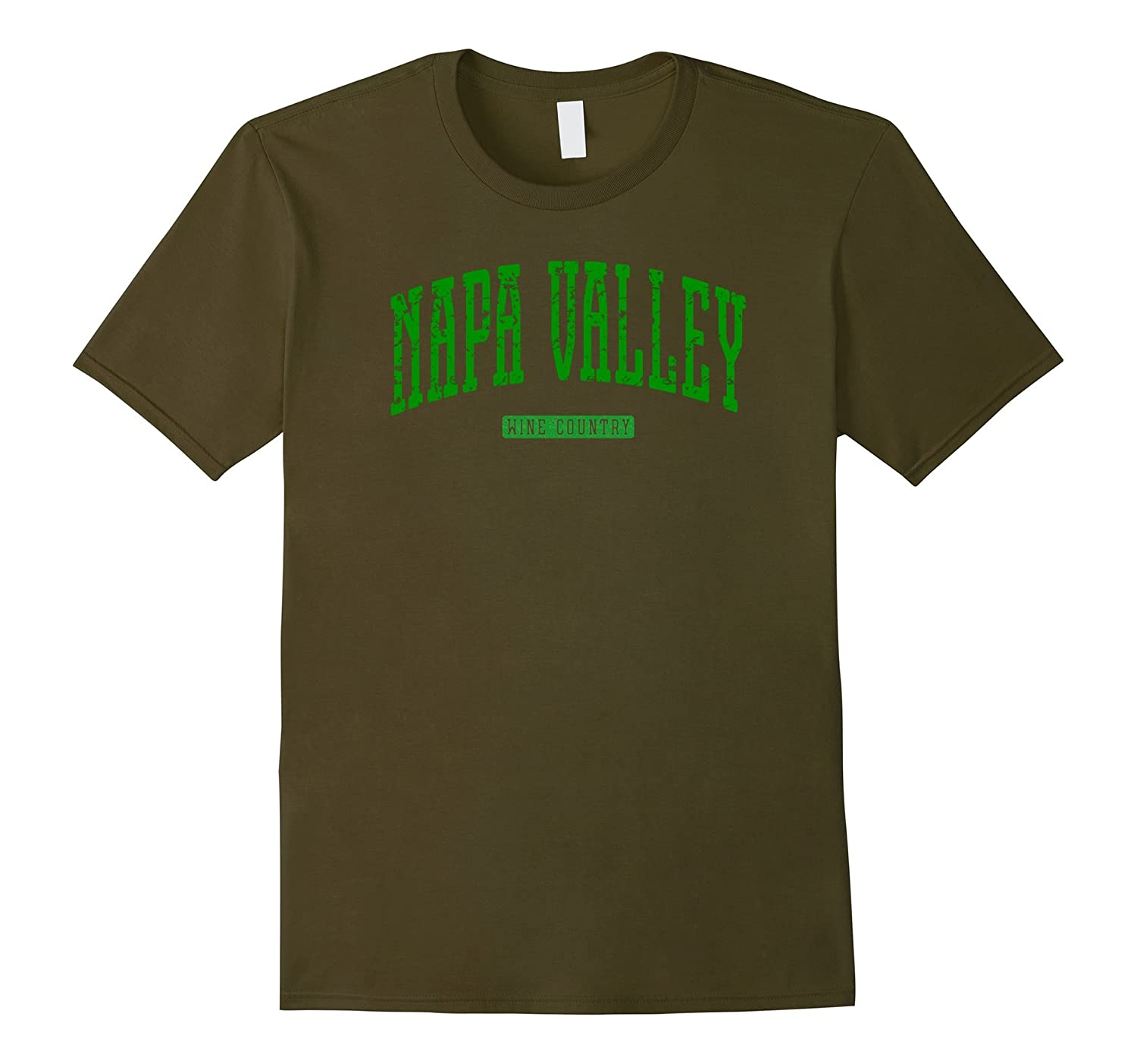 Napa Valley Wine Country Vintage T-Shirt-TH