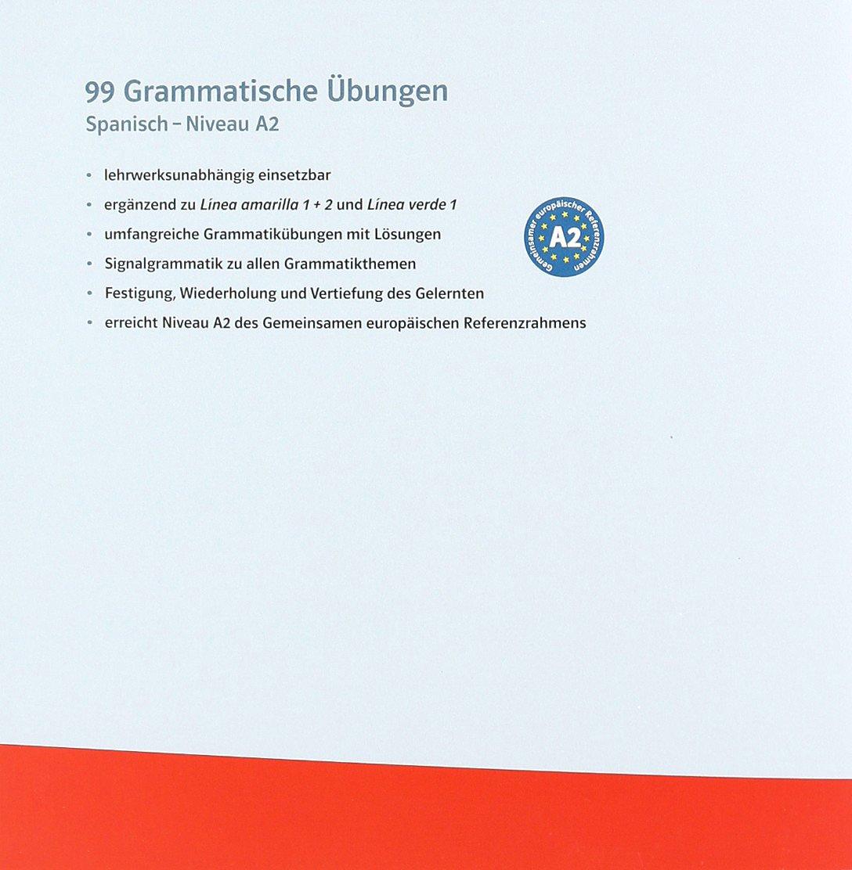Spanisch 99 Grammatische Übungen (A2): Amazon.de: Maria V. Rojas ...