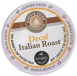 Barista Prima Decaf Italian Roast K-Cups