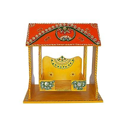 Amazon Com Ritwikas Indian Decorative Baby Krishna Jhula