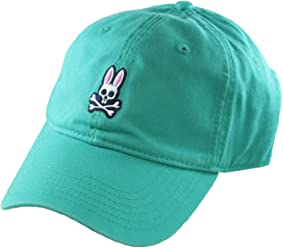 Psycho Bunny Every Day Relaxed Fit Cotton Hat Corsica/Green