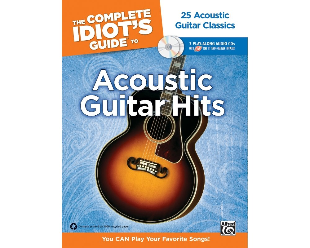 Amazon Alfred The Complete Idiots Guide To Acoustic Guitar