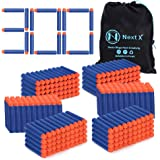 Blaster Darts, NextX 300 Pack Refill Bullets for Nerf N-Strike Elite, Toys Foam Blasters for Boys Party Favors, With…