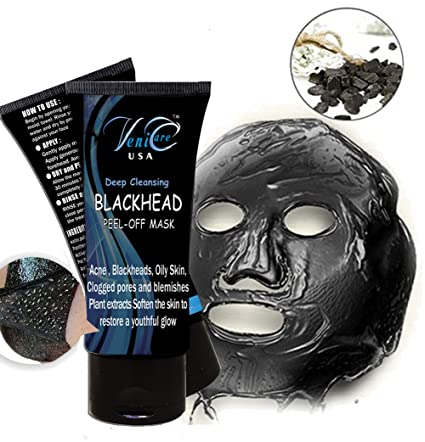 VeniCare Black MASK purifying peel-off mask Facial Clean Blackhead (3 Pack) HOLIKA HOLIKA Pure Essence Mask Sheet - Cucumber
