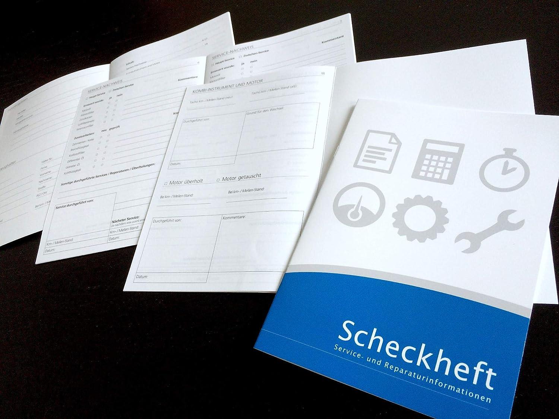 Lobsinger Universal Serviceheft Scheckheft FÜr Alle Kfz Hersteller Geeignet Blanko Auto
