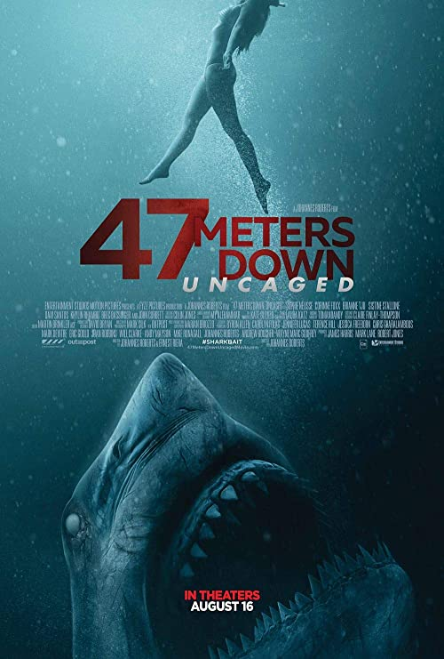 Lionbeen 47 Meters Down Uncaged Movie Poster Cartel de la ...