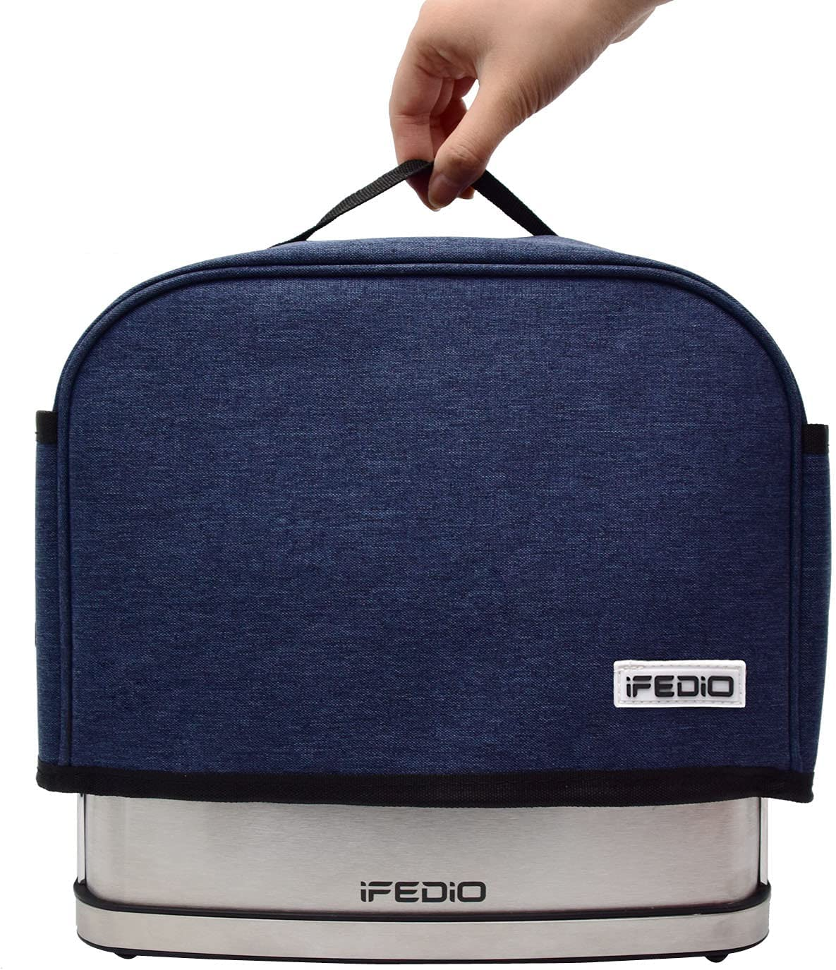 Toaster Cover 2 Slice with 2 Pockets, Avoiding Dust and Pests, Green Materials, Blue, 11