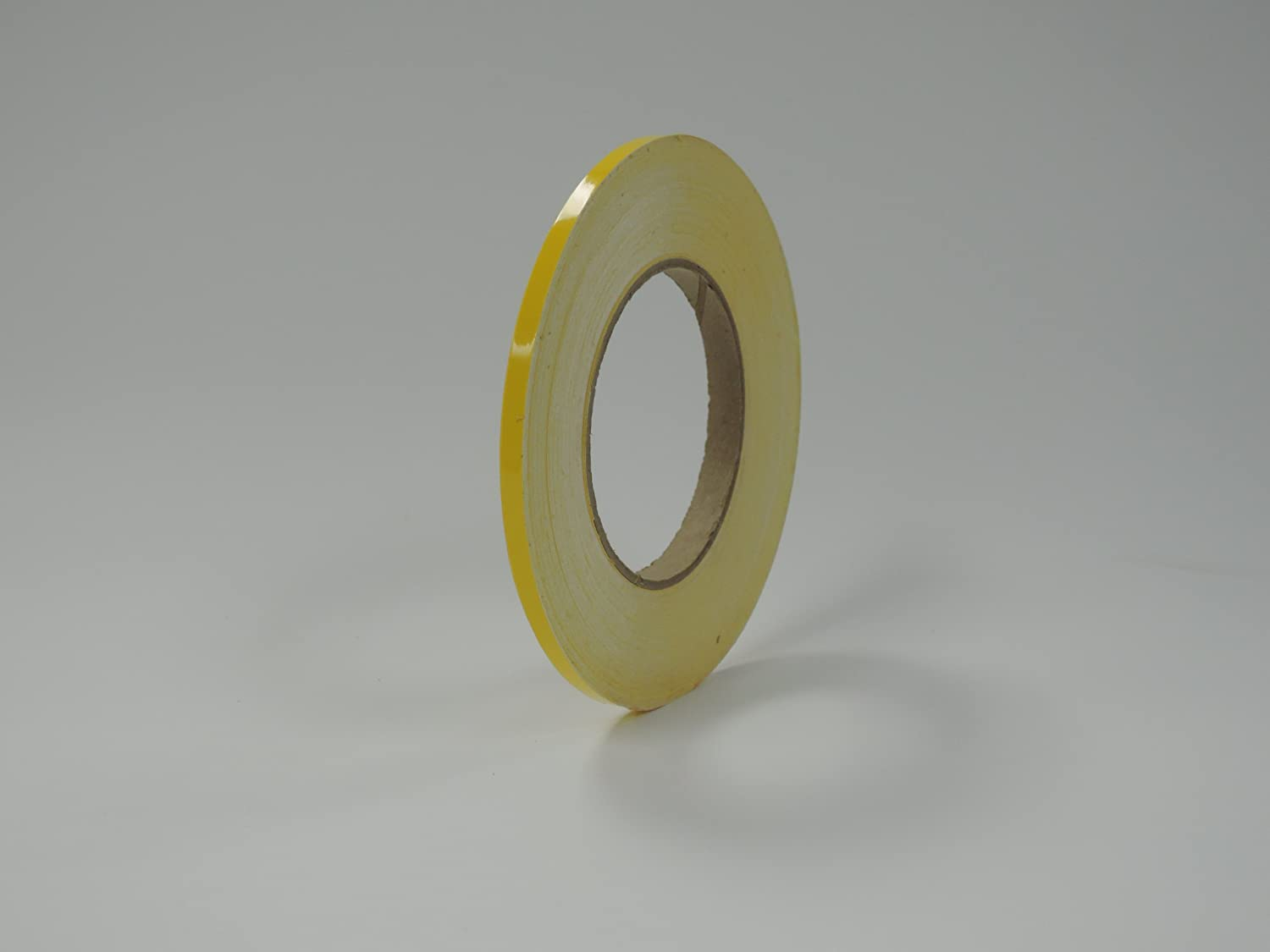"""1//4/"""" x 150 ft White Reflective Pinstriping Safety Tape"""