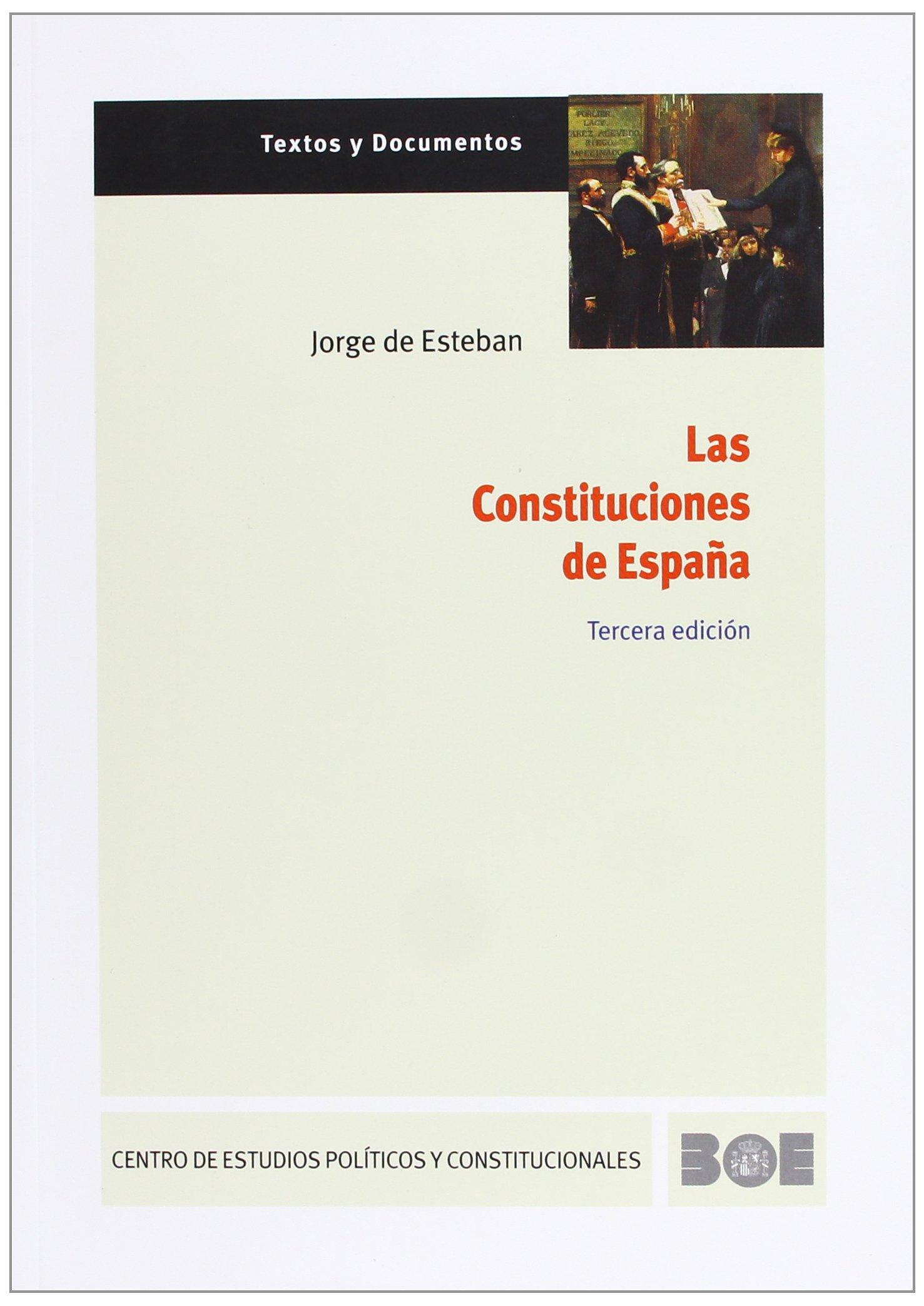 Las Constituciones de España: 1 Textos y Documentos CEPC: Amazon ...