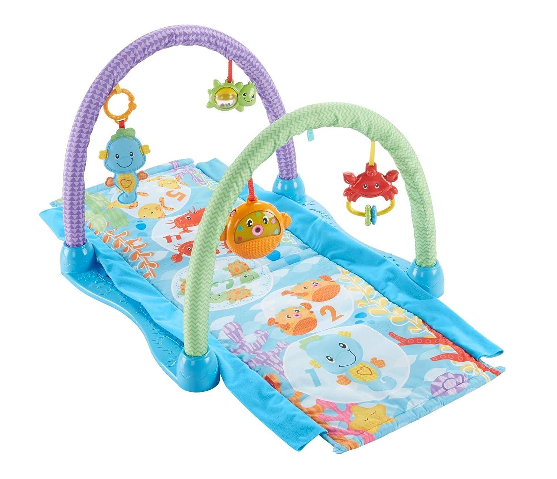 Fisher-Price Kick n Crawl Musical Seahorse Gym Amazon Exclusive