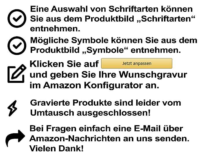 Herren Money-Clip Geldschein-Clip Edelstahl inkl Lasergravur MC1