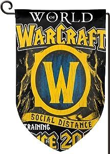 Zwj World of Warcraft Garden Flag 12.5x18 Inch Yard Flag