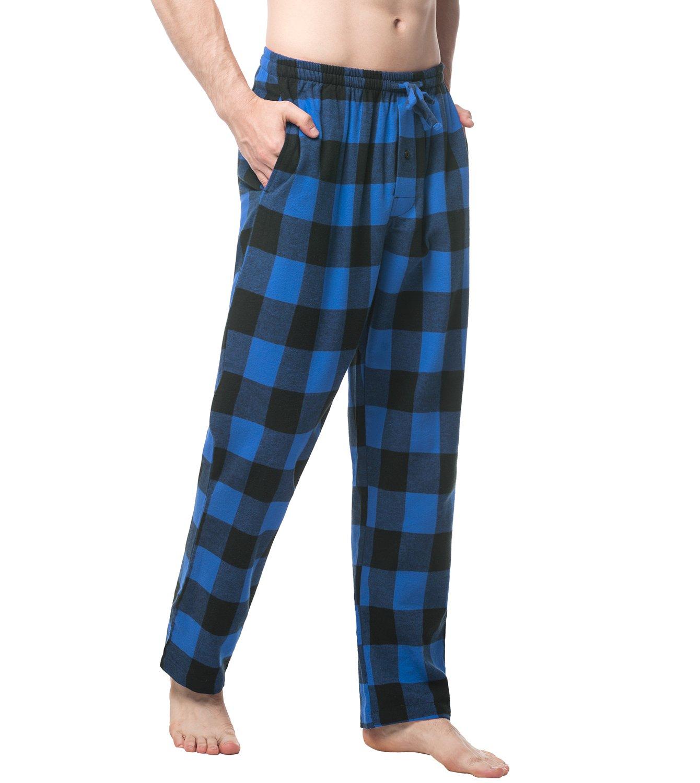 LAPASA PerfectSleep - Pijama de 100% Algodón Franela con Estampado Escocés para Hombre M39 product