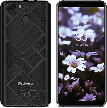 "Blackview S6 - Smartphone Dual SIM de 5.7"" 18:9 HD (Quad Core de ..."
