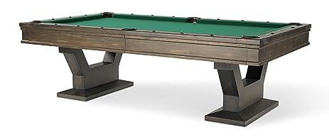 Plank U0026 Hide Gaston 8 Ft Billiards Pool Table   Sable