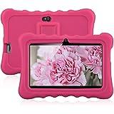 "Ainol Q88 Tablette Tactile d'Enfant 7""Android 4.4 Allwinner A33 512 Mo + 8 Go 1024*600 Caméra Double WIFI External 3G (Rose)"