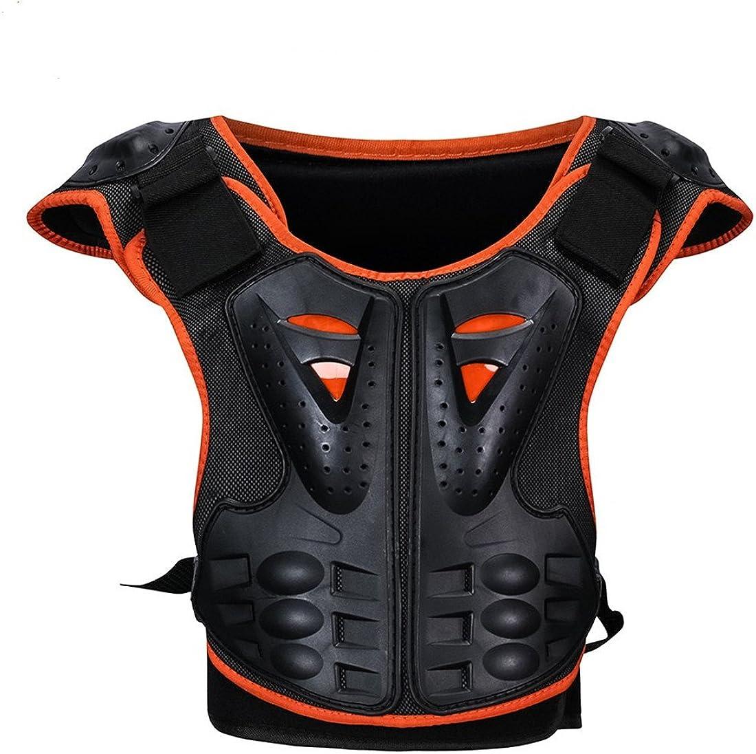 Akaufeng Motorrad Protektorenjacke Kind Protektorenhemd Jungen Mtb Protektoren Schutzkleidung Schutzjacke Bekleidung