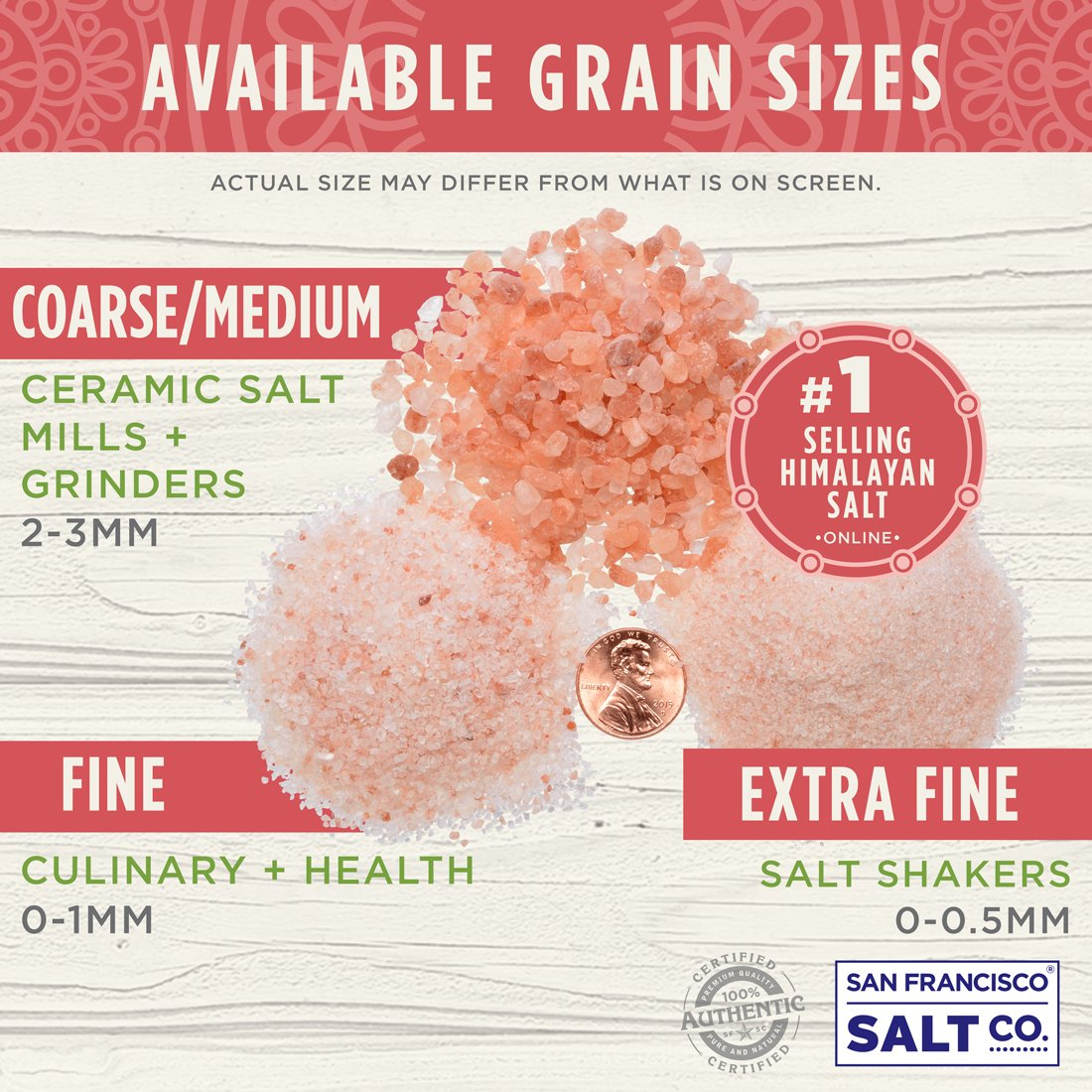 Sherpa Pink Gourmet Himalayan Salt, 2 lbs. Fine Grain. Incredible Taste. Rich in Nutrients and Minerals To Improve Your Health. Add To Your Cart Today. by Sherpa Pink (Image #1)